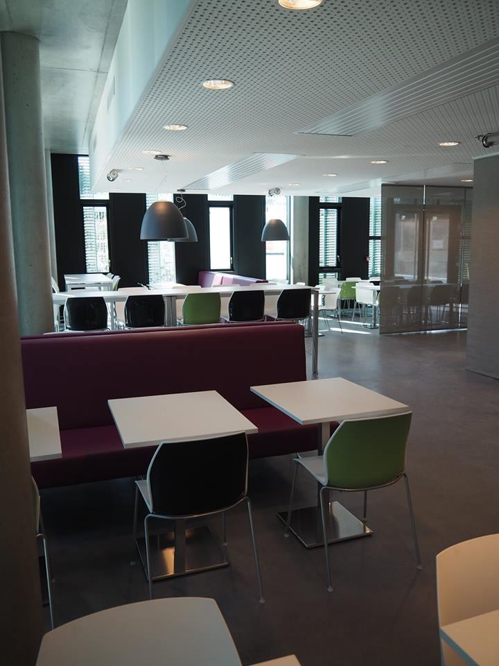 Salle déjeuner entreprise design