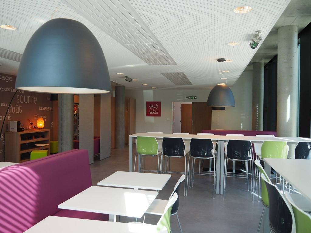 Salle de pause design