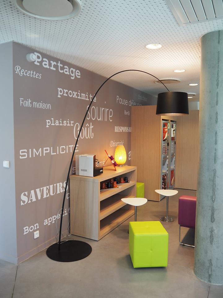 salle entreprise design