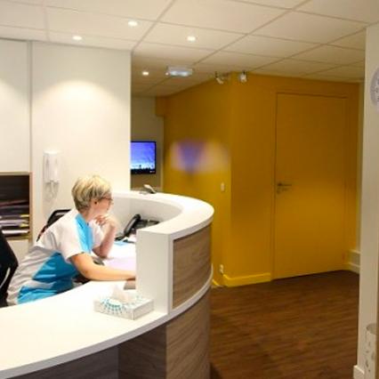 Architecture intérieure cabinet dentaire Nantes