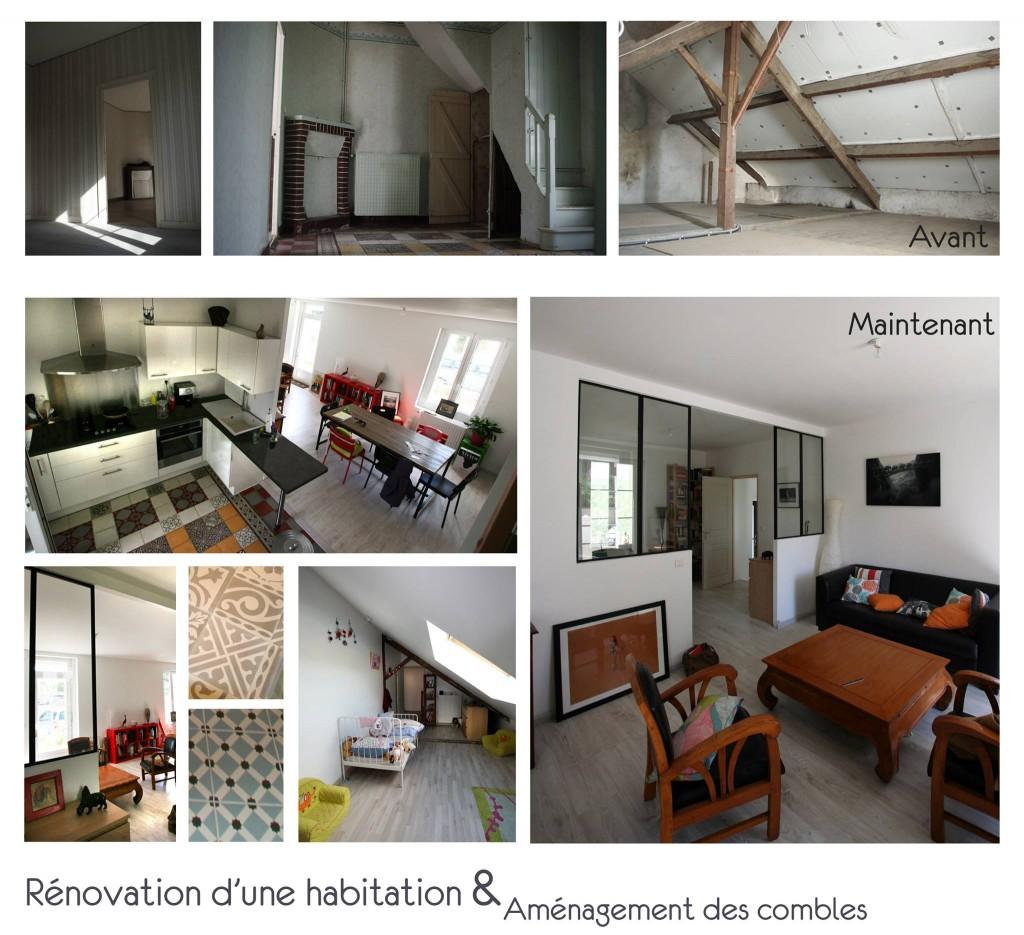 Architecte rénovation maison Nantes