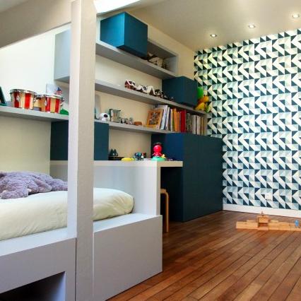 maison Nantes rénovation chambre