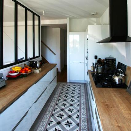 rénovation cuisine verrière