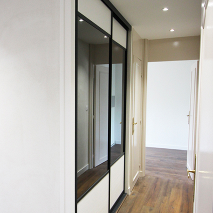 rénovation entrée couloir