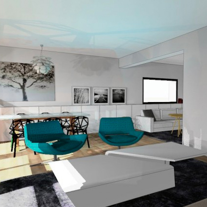 rénovation maison salon Nantes