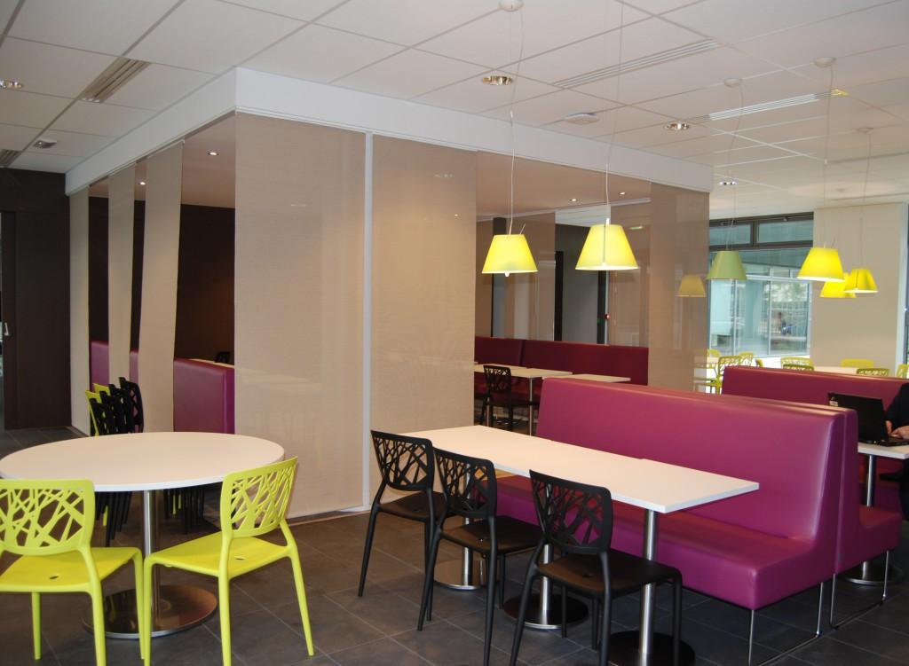 Restaurant entreprise Capgemini architecte