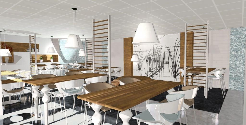 Travaux restaurant Nantes espace commercial