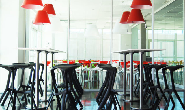architecte intérieur cafétéria