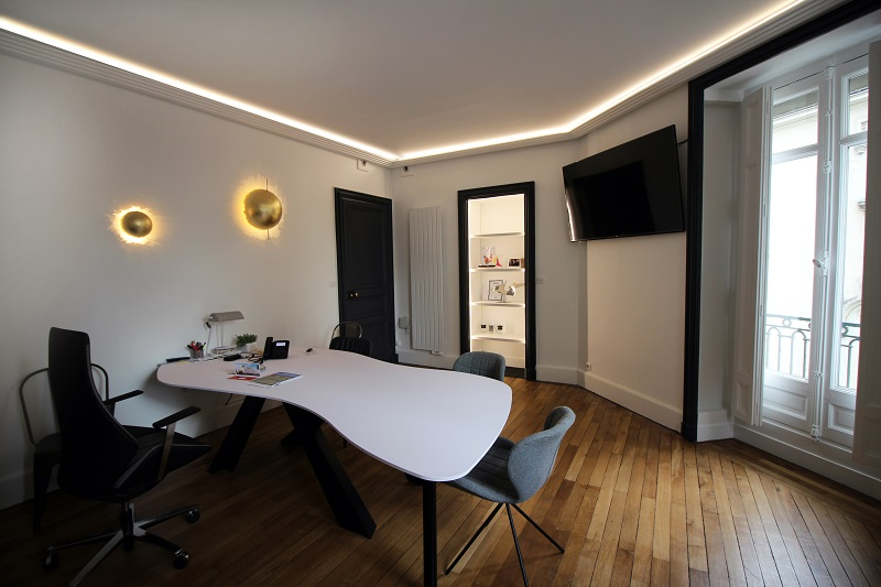 bureau start-up moderne et design