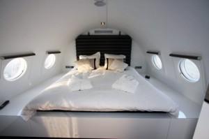 chambre hôtel avion